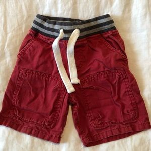 Mini Boden Red Shorts (2Y)